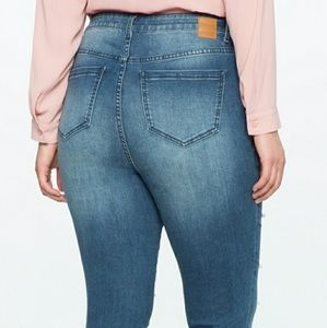 Eloquii Jeans - Pearl embellished jeans